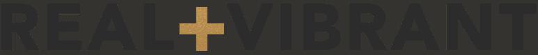 Real + Vibrant logo
