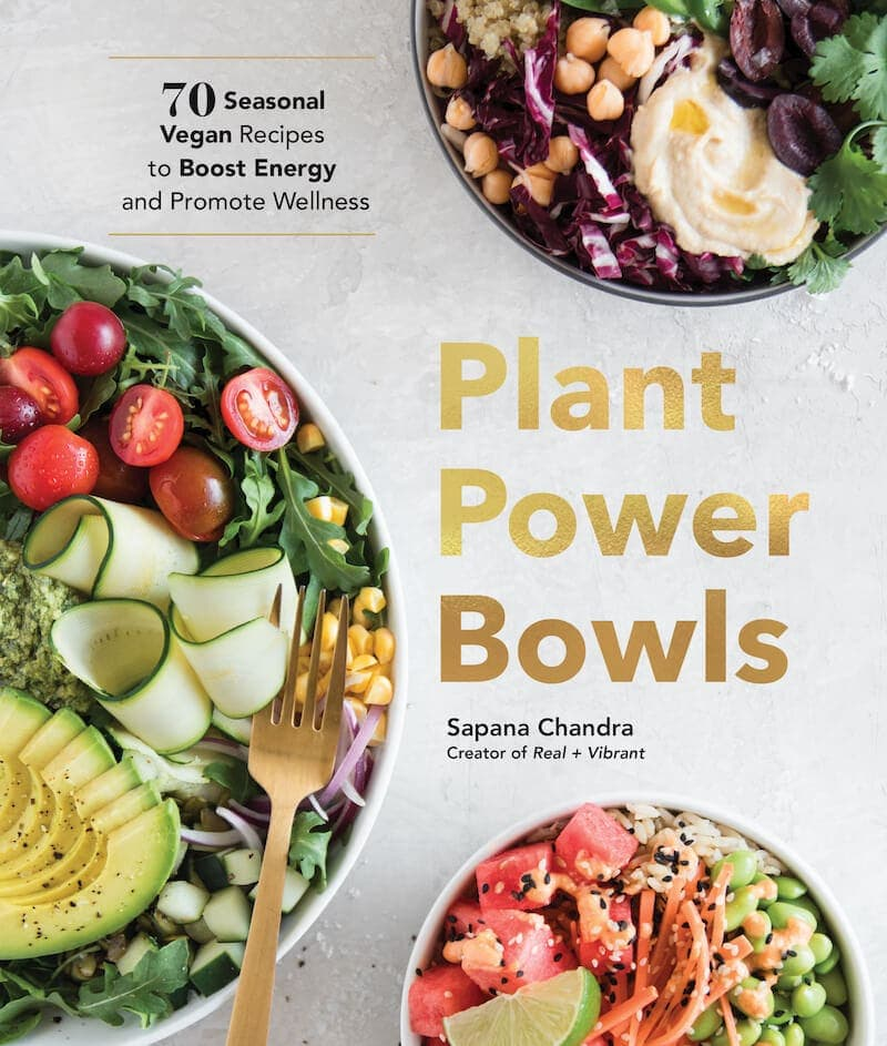 Cover of the Plant Power Bowls cookbook