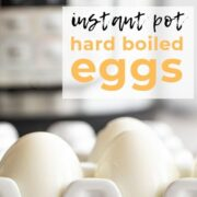 Pin for Instant Pot eggs.
